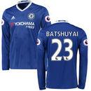 Michy Batshuayi Chelsea adidas 2016/17 Home Replica Long Sleeve Jersey - Blue