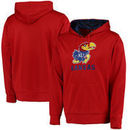 Kansas Jayhawks Colosseum Oil Slick Pullover Hoodie - Red