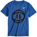 Duke Blue Devils Nike Youth Basketball and Logo Performance T-Shirt - Royal