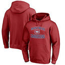 Montreal Canadiens Victory Arch Fleece Pullover Hoodie - Red