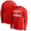 Detroit Red Wings Victory Arch Long Sleeve T-Shirt - Red