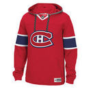 Montreal Canadiens Reebok Jersey Speedwick Pullover Hoodie - Red