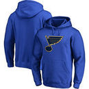 St. Louis Blues Fanatics Branded Primary Logo Pullover Hoodie - Blue