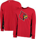 Louisville Cardinals Hands High Hail Mary Long Sleeve Fashion T-Shirt - Red/Black