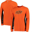 Oklahoma State Cowboys Hands High Hail Mary Long Sleeve Fashion T-Shirt - Orange/Black