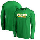 Norfolk State Spartans Fanatics Branded Team Strong Long Sleeve T-Shirt - Kelly Green