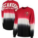 Tampa Bay Buccaneers NFL Pro Line by Fanatics Branded Women's Spirit Jersey Long Sleeve T-Shirt - Red/Black