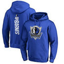 Harrison Barnes Dallas Mavericks Fanatics Branded Backer Pullover Hoodie - Blue