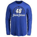 Jimmie Johnson Youth Race Day Long Sleeve T-Shirt - Royal -
