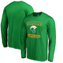 Norfolk State Spartans Fanatics Branded Campus Icon Long Sleeve T-Shirt - Green