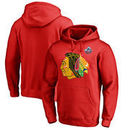 Chicago Blackhawks 2017 Winter Classic Vintage Logo Pullover Hoodie - Red