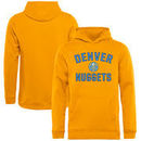 Denver Nuggets Youth Victory Arch Pullover Hoodie - Gold