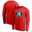 Toronto Raptors Fanatics Branded Big & Tall Primary Logo Long Sleeve T-Shirt - Red