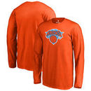 New York Knicks Fanatics Branded Youth Primary Logo Long Sleeve T-Shirt - Orange