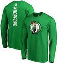 Al Horford Boston Celtics Backer Name & Number Long Sleeve T-Shirt - Kelly Green