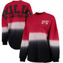 Chicago Bulls Fanatics Branded Women's Spirit Jersey Classic Long Sleeve T-Shirt - Red/Black