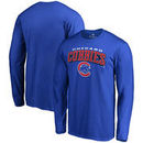 Chicago Cubs Hometown Collection Cubbies Long Sleeve T-Shirt - Royal