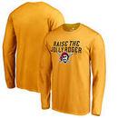 Pittsburgh Pirates Jolly Roger Hometown Long Sleeve T-Shirt - Gold