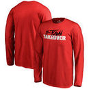 Houston Cougars Youth H-Town Takeover Long Sleeve T-Shirt - Red