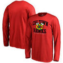 Chicago Blackhawks Youth Hometown Collection Chi Town Hawks Long Sleeve T-Shirt - Red