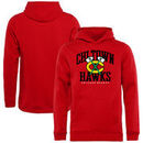 Chicago Blackhawks Youth Hometown Collection Chi Town Hawks Pullover Hoodie - Red