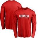 Cornell Big Red Custom Sport Long Sleeve T-Shirt - Red