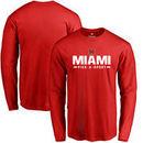 Miami University RedHawks Custom Sport Long Sleeve T-shirt - Red