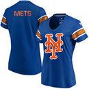 New York Mets Fanatics Branded Women's Iconic V-Neck T-Shirt - Royal