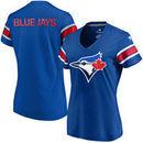 Toronto Blue Jays Fanatics Branded Women's Iconic V-Neck T-Shirt - Royal