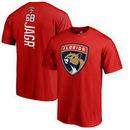 Jaromir Jagr Florida Panthers Fanatics Branded Backer Name & Number T-Shirt - Red