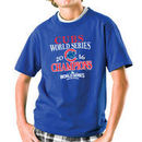 Chicago Cubs Soft as a Grape Youth 2016 World Series Champions T-Shirt - Royal