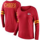 Kansas City Chiefs Nike Women's Tailgate Long Sleeve T-Shirt - Red