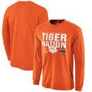 Clemson Tigers Fanatics Branded College Football Playoff 2016 Fiesta Bowl Bound Nation Long Sleeve T-Shirt - Orange