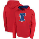 Philadelphia Phillies Majestic Lefty/Righty Pullover Hoodie - Red
