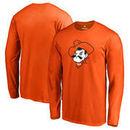 Oklahoma State Cowboys Fanatics Branded Primary Logo Long Sleeve T-Shirt - Orange