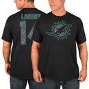 Jarvis Landry Miami Dolphins Majestic Primetime Player Name & Number T-Shirt - Black