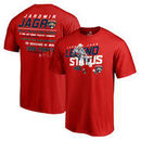 Jaromir Jagr Florida Panthers Fanatics Branded 2nd All-Time Point Record T-Shirt - Red