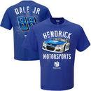 Dale Earnhardt Jr. Hendrick Motorsports Team Collection Nationwide Speedbolt T-Shirt - Royal