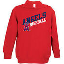 Los Angeles Angels Soft As A Grape Toddler Scoring Position Pullover Hoodie - Red