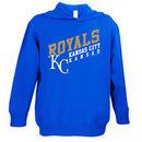 Kansas City Royals Soft As A Grape Toddler Scoring Position Pullover Hoodie - Royal