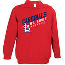 St. Louis Cardinals Soft As A Grape Toddler Scoring Position Pullover Hoodie - Red