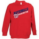 Washington Nationals Soft As A Grape Toddler Scoring Position Pullover Hoodie - Red