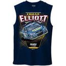 Chase Elliott Hendrick Motorsports Team Collection NAPA Muscle T-Shirt - Navy