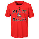 Miami Marlins Majestic Youth City Wide Cool Base T-Shirt - Black