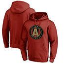 Atlanta United FC Fanatics Branded Primary Logo Pullover Hoodie - Cardinal