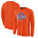Clemson Tigers Fanatics Branded College Football Playoff 2016 National Champions Official Icon Long Sleeve T-Shirt - Orange