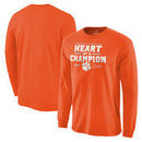 Clemson Tigers Fanatics Branded College Football Playoff 2016 National Champions Blitz Long Sleeve T-Shirt - Orange
