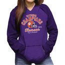 Clemson Tigers Women's College Football Playoff 2016 National Champions Pullover Hoodie - Heathered Purple