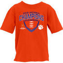 Clemson Tigers Blue 84 Youth College Football Playoff 2016 National Champions T-Shirt - Orange