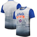 New York Mets Outfield Photo T-Shirt - White/Royal